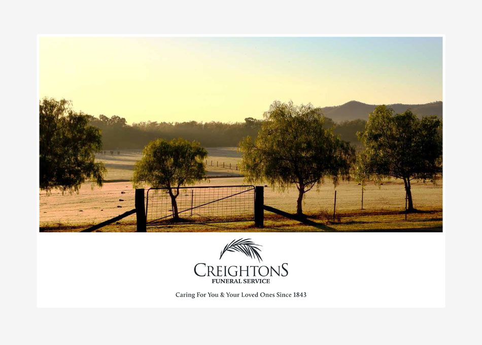 creightons funerals hunter valley brochure