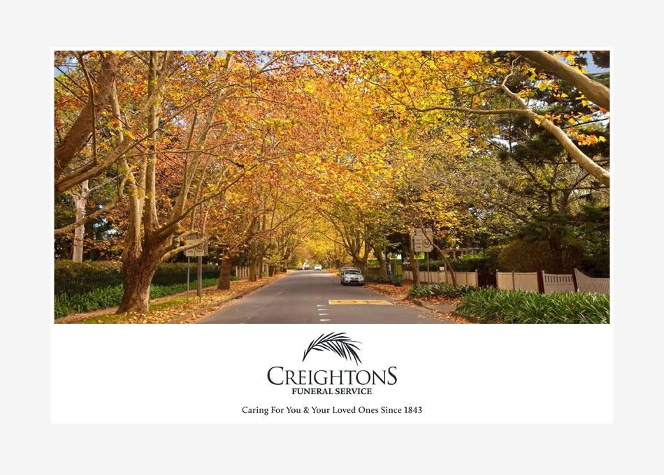 creightons funerals sydney brochure