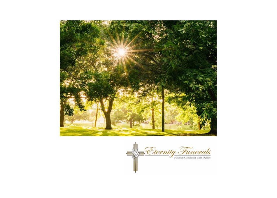 eternity funerals brochure